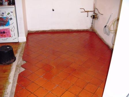 Terracotta Floor in Leicester After