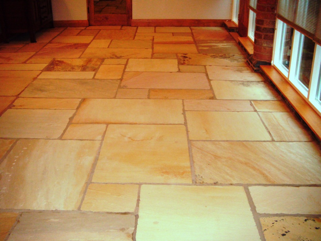 Sandstone Floor in Loughborough After