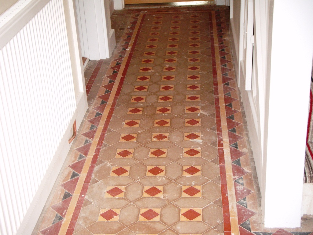 Victorian Floor Hinckley Before Cleaning