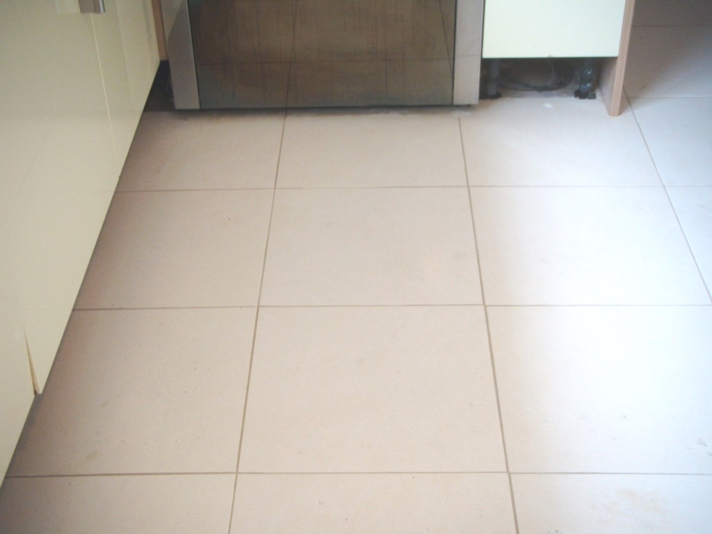 Limestone Tiled Floor After Cleaning Market Harborough