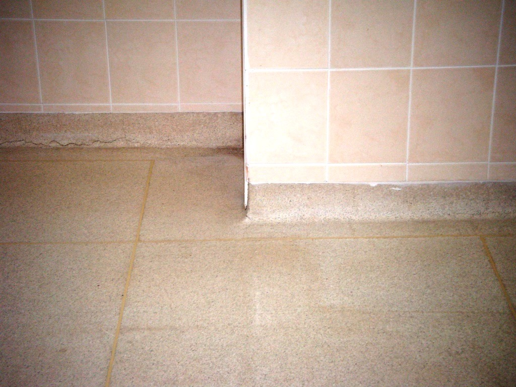 Old Terrazzo Floor in Oakham After Cleaning