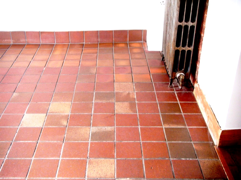 Quarry Tiles Cleaned in Hinckley After