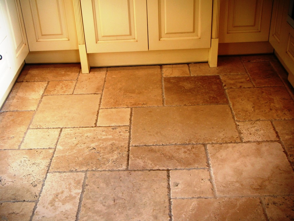 Travertine tiles stone cleaning and polishing tips for for Floors tiles for kitchen