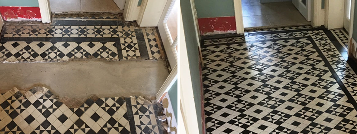 Black-White-Edwardian-Geometric-Floor-Before-After-Restoration-Quorn