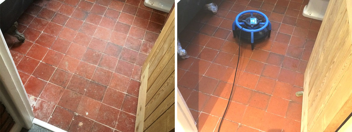 Quarry-Tiled-Floor-Before-After-Restorative-Cleaning-and-Sealing-Braunstone