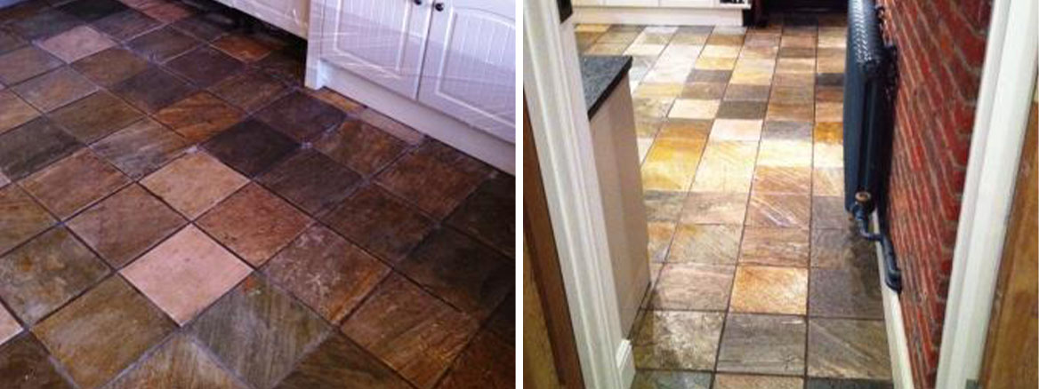 Slate-Kitchen-Floor-Before-After-Sealing